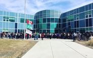 Schüleraustausch, Kanada, Schulwahl, Ecole Gisele Lalonde, Gebäude, außen