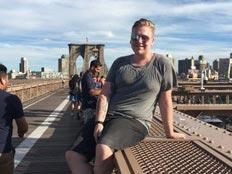 Au pair USA Blog, Daniel, Brooklyn Bridge